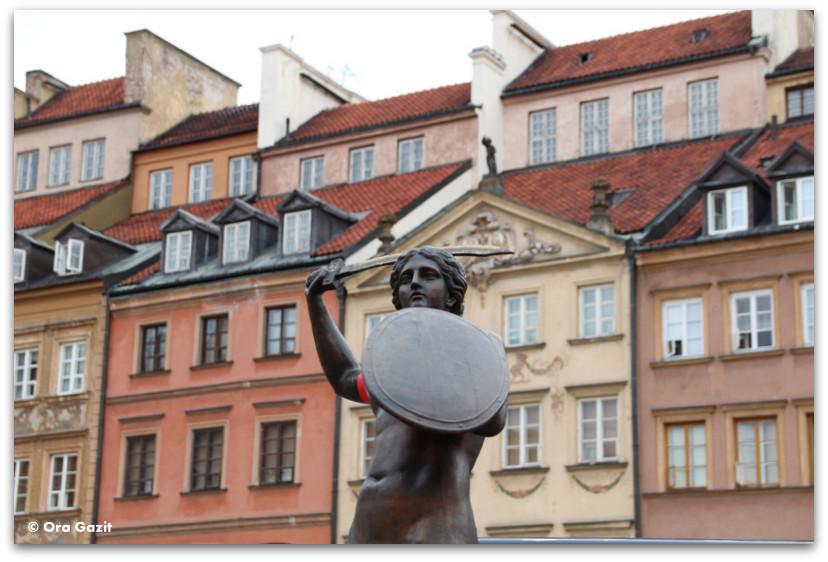 בת הים של ורשה - טיול בורשה - מה לעשות בורשה