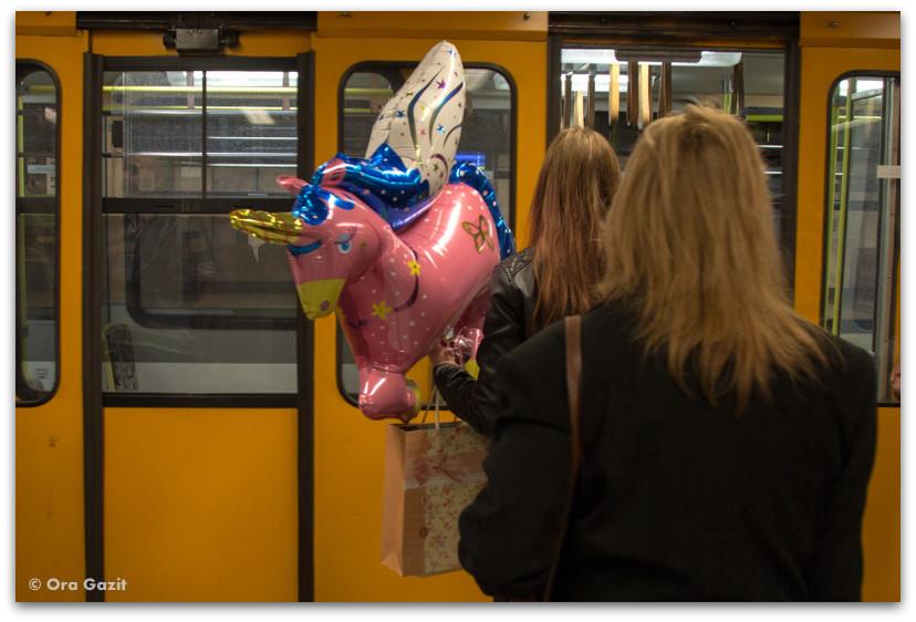 תחבורה ציבורית - טיול בבודפשט - הונגריה