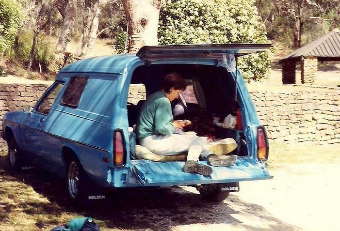 בתוך המכונית - אוסטרליה - יומן מסע - טיול אחרי צבא