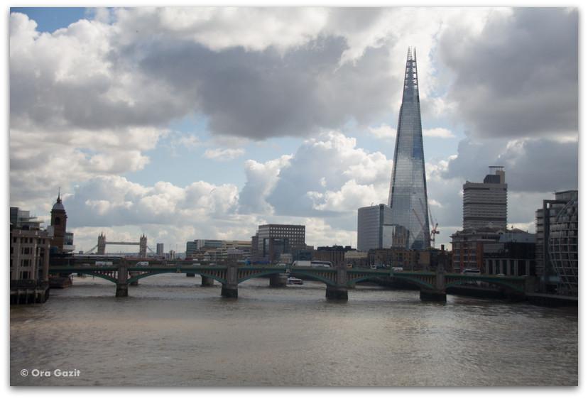מגדל השארד - לונדון - יומן מסע