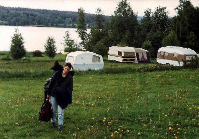 קמפינג, שבדיה - יומן מסע - טיול אחרי צבא