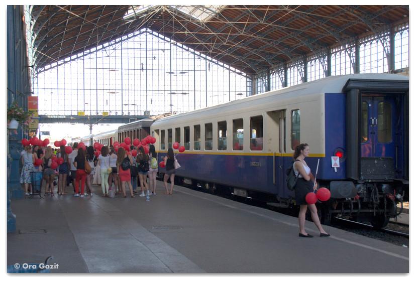 תחנת רכבת - בודפשט - הונגריה