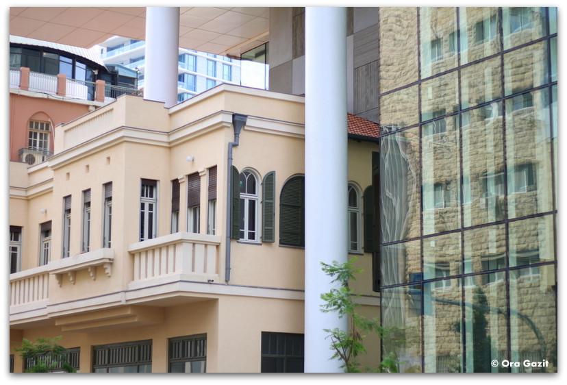 חזית בנין לשימור - סיורים מודרכים בתל אביב - תל אביב