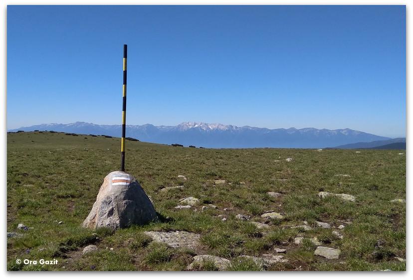 סימוני שביל - טרק הרי רילה - טרקים בבולגריה - יומן מסע