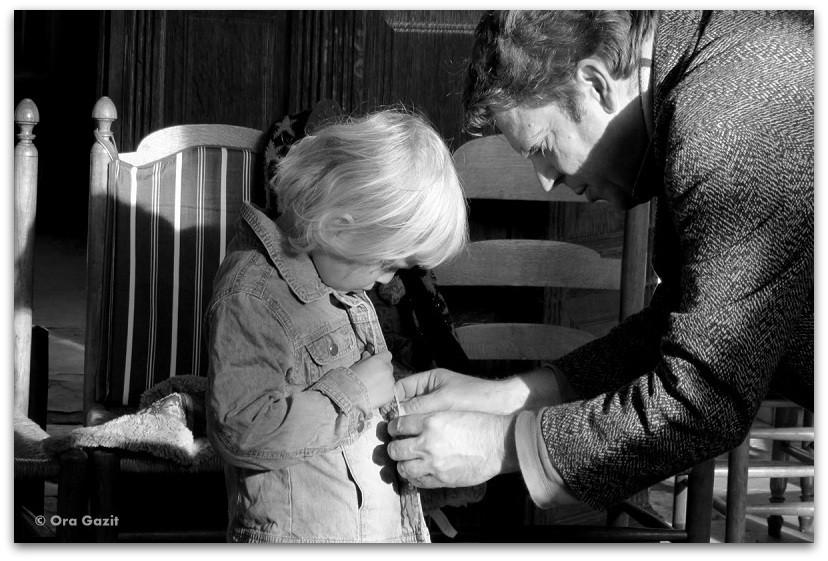 אבא ובת - תמונות מספרות סיפור – טיפים לצילום – איך לצלם טוב