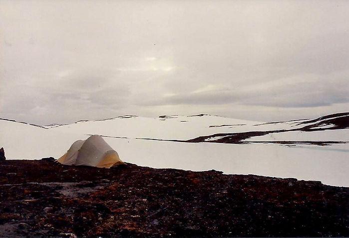 אוהל בשלג, שבדיה - יומן מסע - טיול אחרי צבא