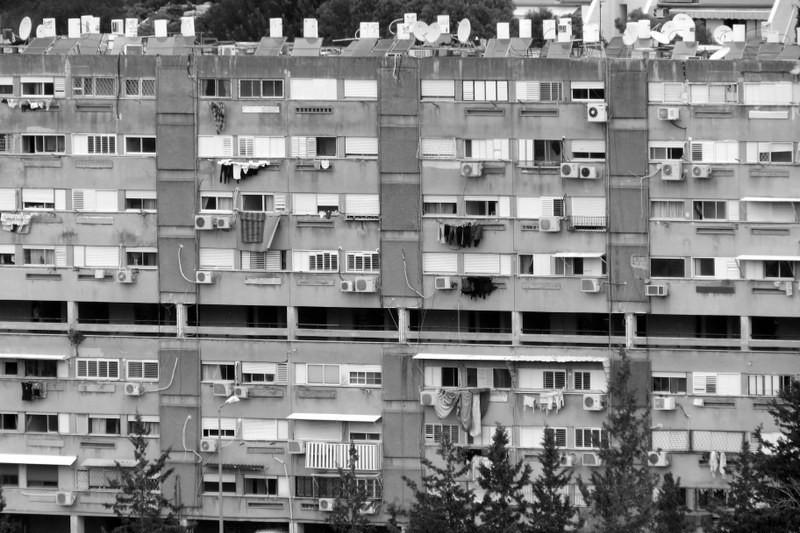 בתים בשכונת יזרעאליה - שביל חיפה - טרק - טיול בחיפה