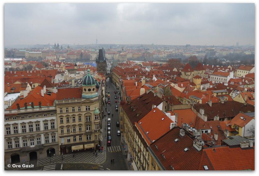 גגות העיר, תצפית, פראג