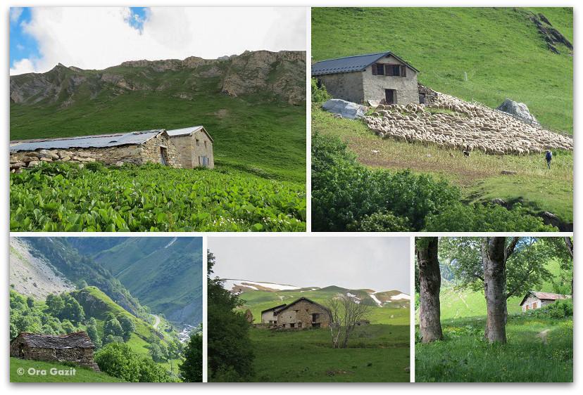 בקתות הרים - טרק - סובב מון בלאן