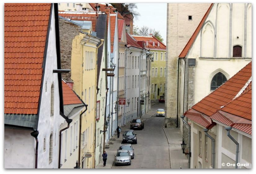 סמטה יפה - טאלין, אסטוניה