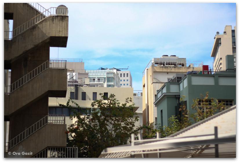 נוף אורבני - סיורים מודרכים בתל אביב - תל אביב
