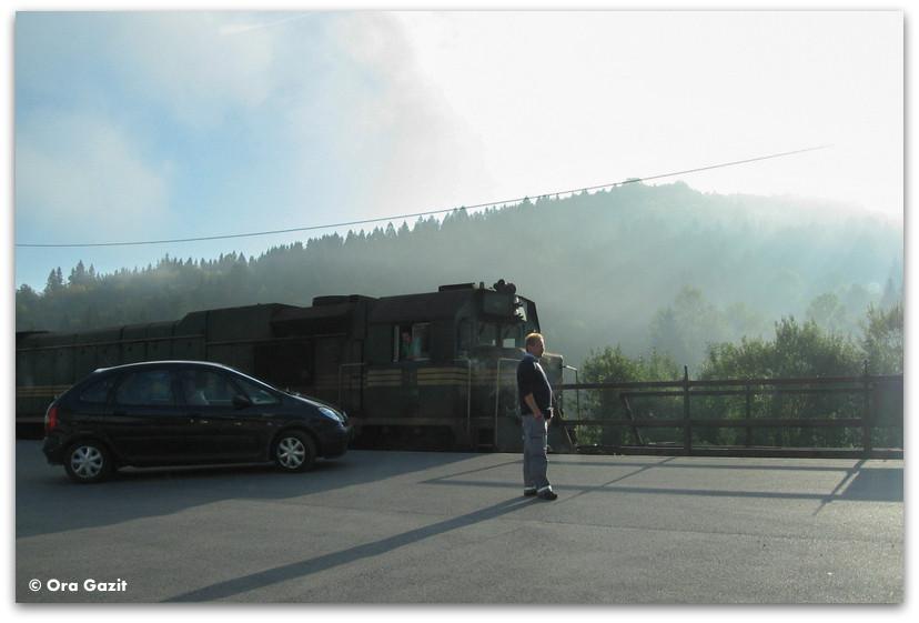 רכבת המכוניות, סלובניה