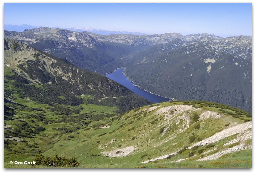 אגם על נהר בלי יסקאר - הרי רילה בולגריה - טרקים בבולגריה - יומן מסע