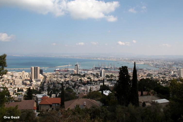 תצפית - שביל חיפה - טרק - טיול בחיפה