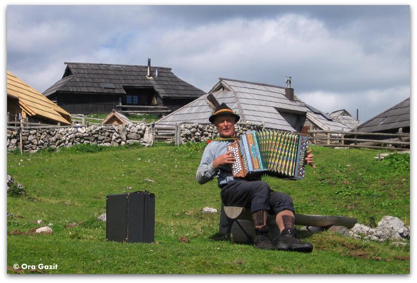 נגן אקורדיון, סלובניה
