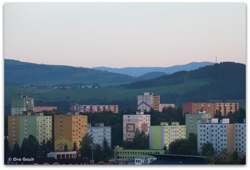 עיירה צבעונית - סלובקיה
