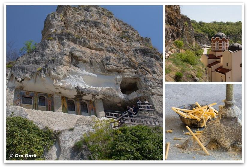 מנזר חצוב בסלע - בולגריה - טיול עם ילדים בחול
