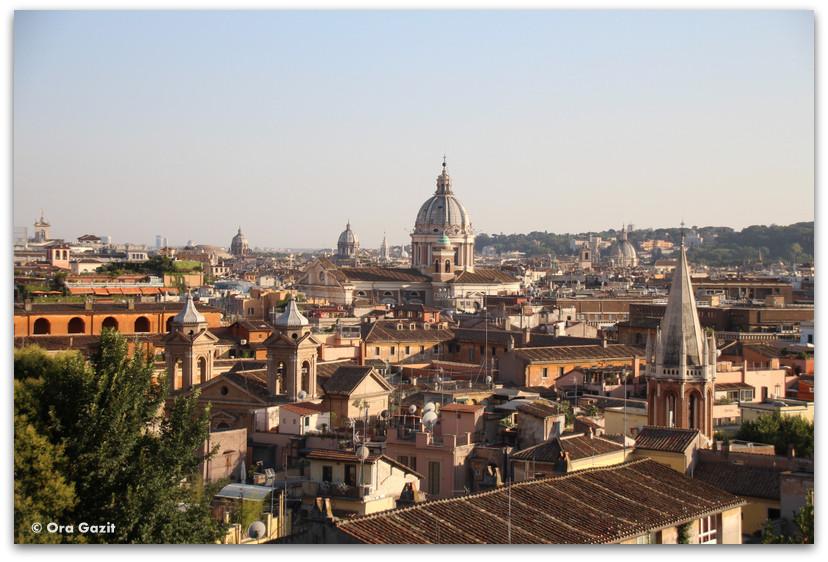 תצפית על רומא - רומא עם ילדים, איטליה