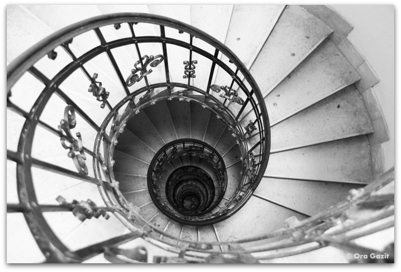 מדרגות ספירליות - אטרקציות בבודפשט