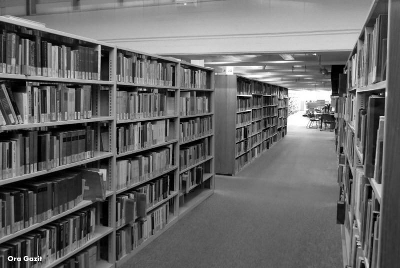 הספריה - אוניברסיטת חיפה - שביל חיפה - טרק - טיול בחיפה