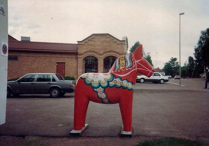 סוס עץ, שבדיה - יומן מסע - טיול אחרי צבא