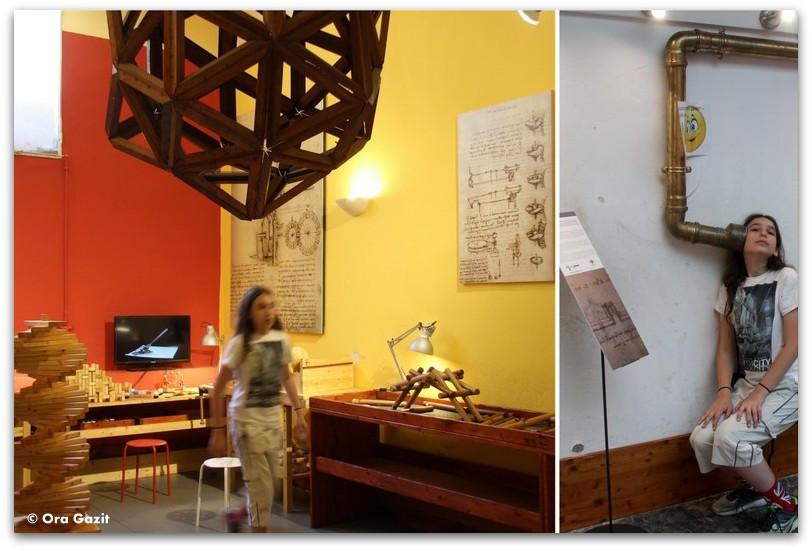 מוזיאון לאונרדו דה ווינצ'י - פירנצה, איטליה