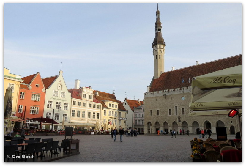כיכר העיר העתיקה - טאלין, אסטוניה