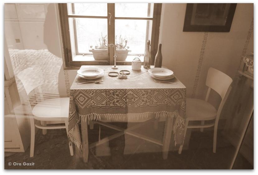 שולחן אוכל - סיפור אהבה - ספרים מומלצים