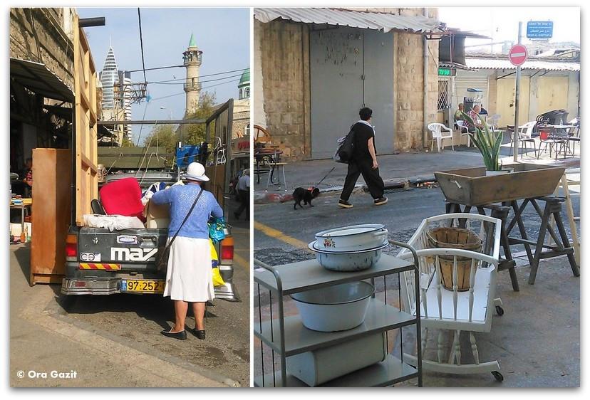 שוק הפשפשים חיפה