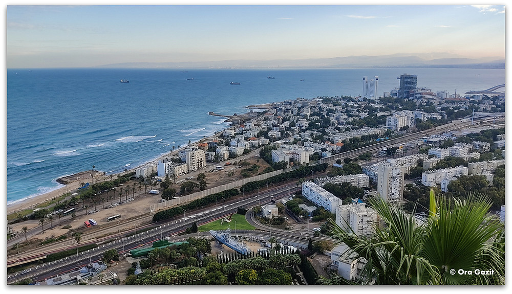 דרך נוף חיפה - תצפיות בחיפה