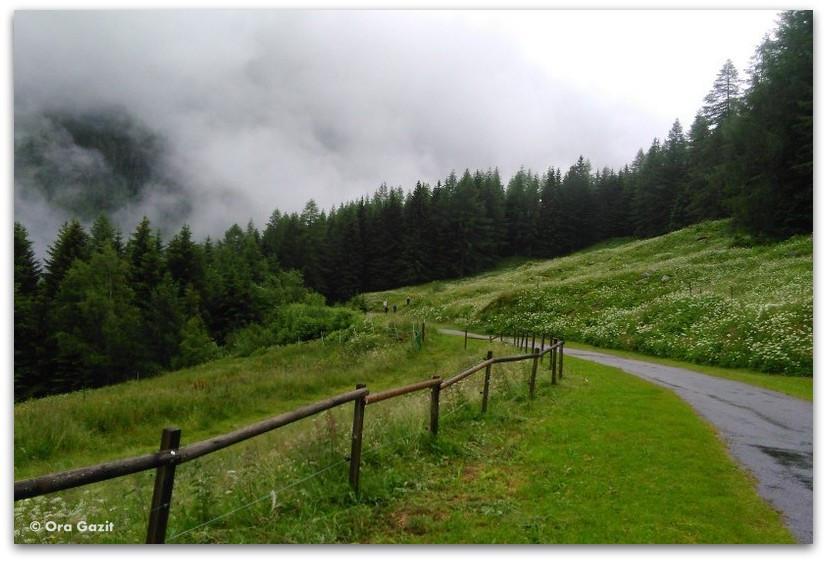 שביל בערפל - טרק - סובב מון בלאן - יומן מסע