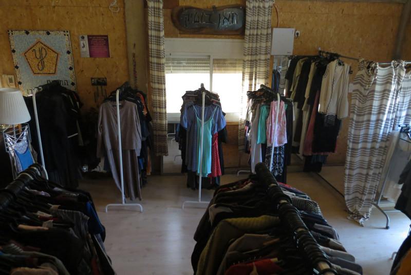 חנות יד שניה - התנדבות - חאן יותם