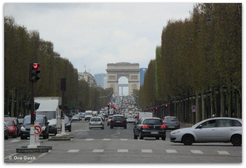 שאנז אליזה, שער הניצחון, פריז