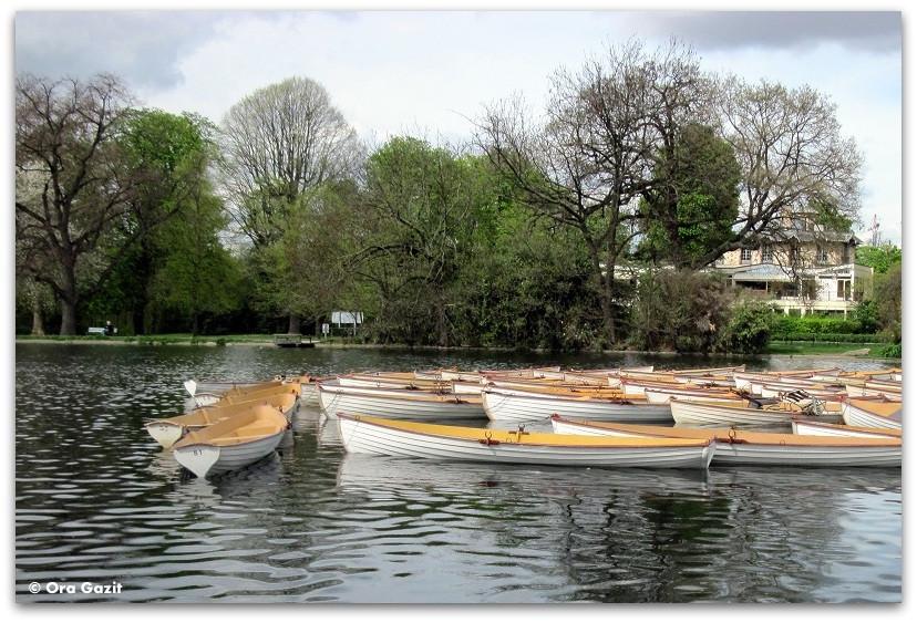 סירות ביער בולון - פארק - פריז
