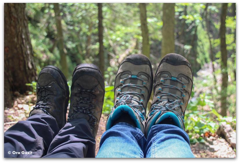 נעלי טיולים - טרק - סלובקיה