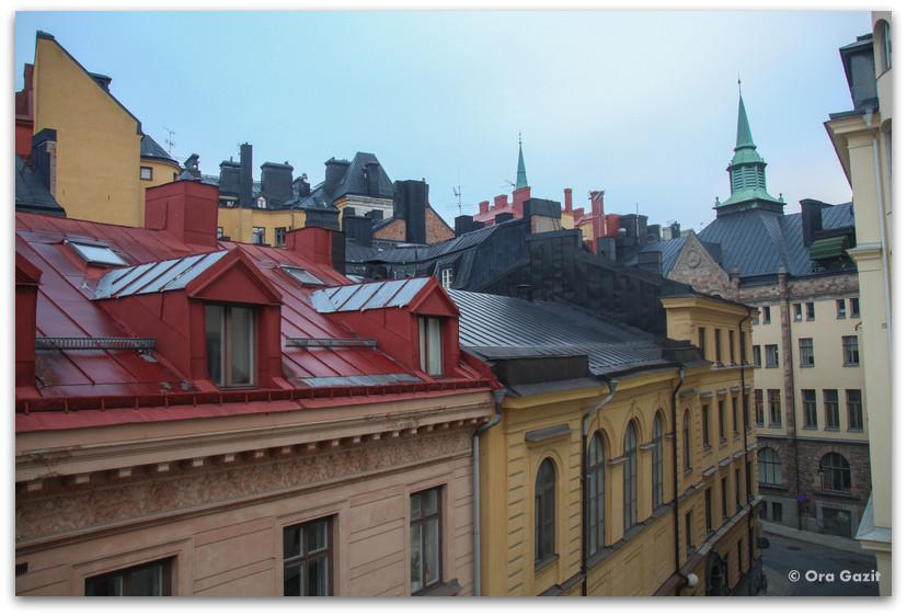 גגות העיר - שטוקהולם