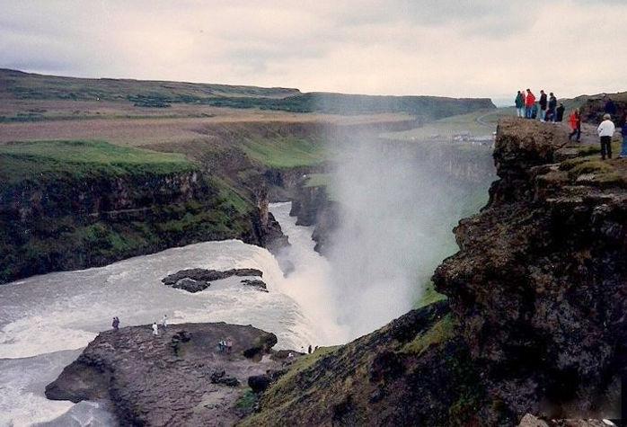גולפוס, איסלנד - יומן מסע - טיול אחרי צבא