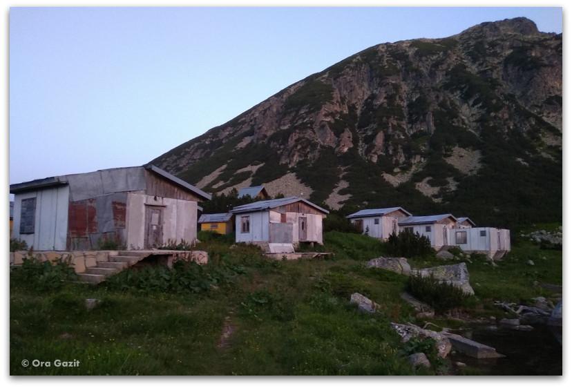 בקתות הרים - טרק הרי רילה - טרקים בבולגריה - יומן מסע
