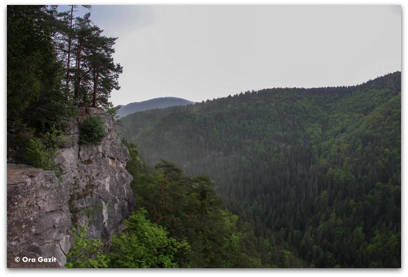 תצפית - טרק - גן העדן הסלובקי - סלובקיה