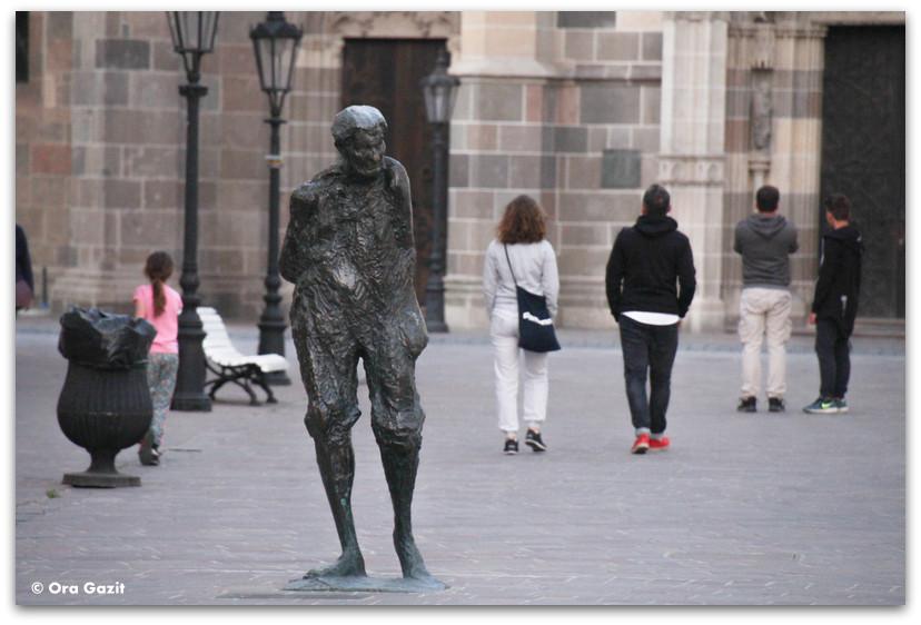 פסל ברחוב - קושיצה - סלובקיה