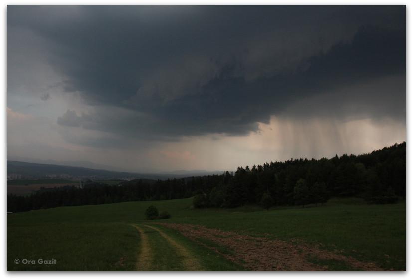 סערה מתקרבת - טרק - גן העדן הסלובקי - סלובקיה