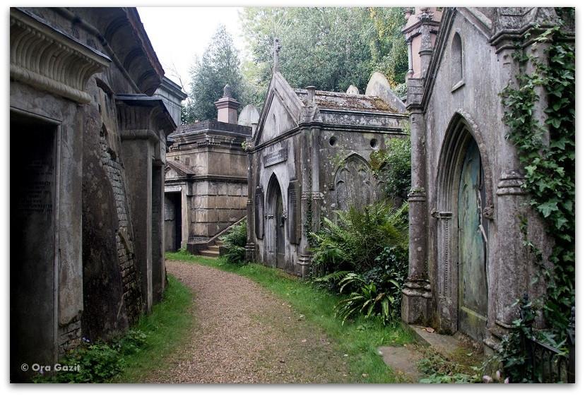 בית הקברות הייגייט - לונדון - יומן מסע