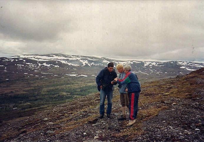 מטיילים בהרים, שבדיה - יומן מסע - טיול אחרי צבא
