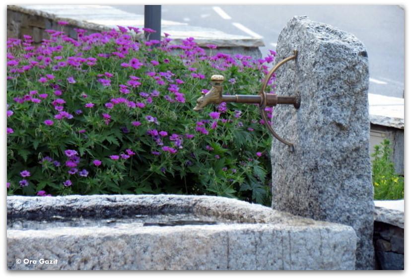 ברז מים - טרק - סובב מון בלאן