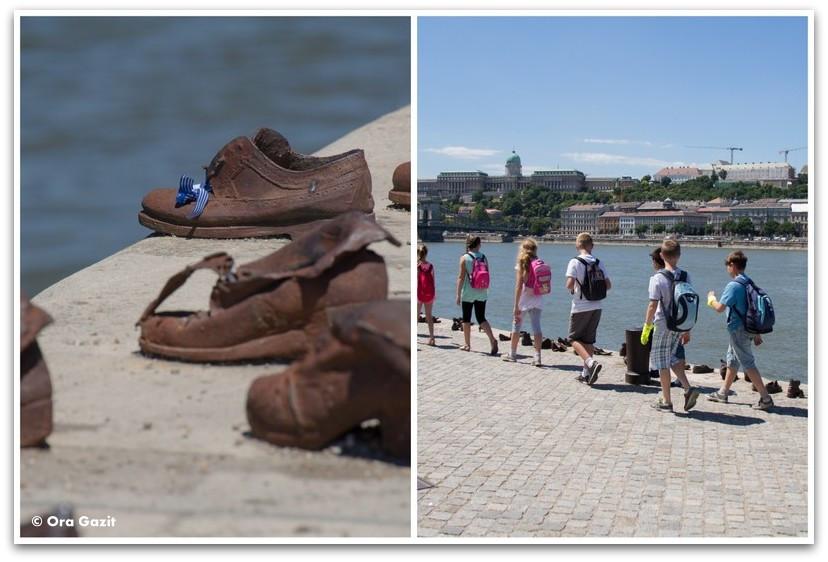 נעליים על הדנובה - אטרקציות בבודפשט - הונגריה