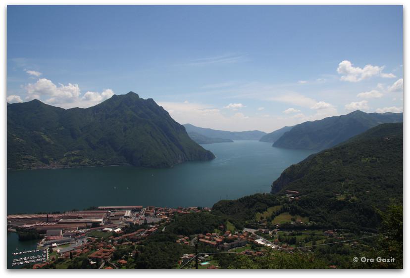 אגם איזאו - אזור האגמים - צפון איטליה
