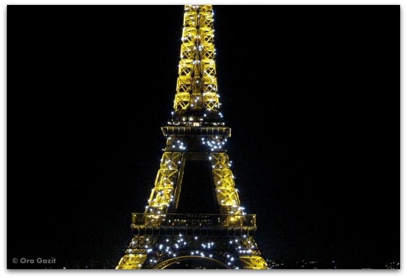 מגדל אייפל, פריז - בלילה