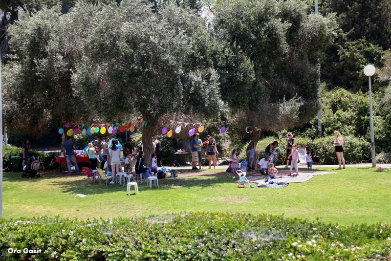 מסיבה בפארק - נחל לטם - שביל חיפה - טרק - טיול בחיפה