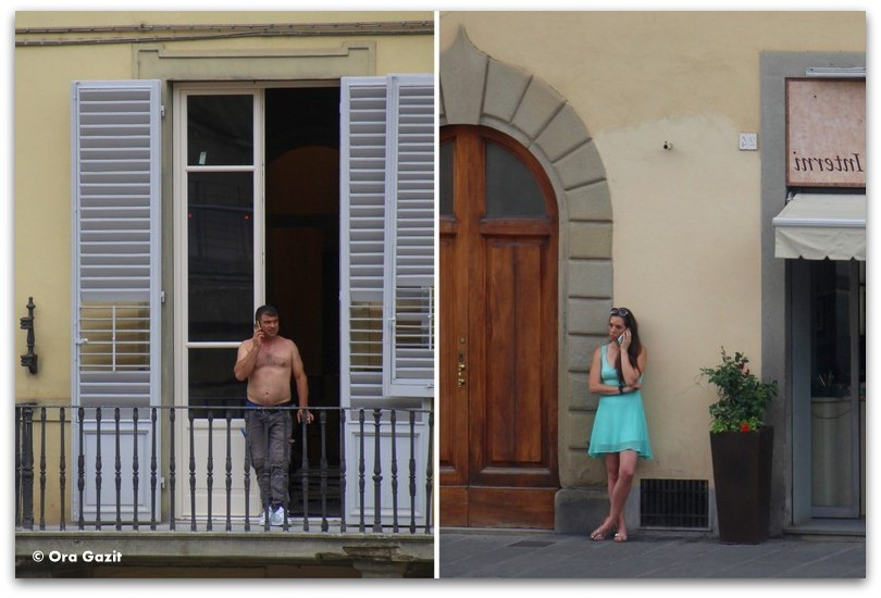איש ואשה - פירנצה, איטליה