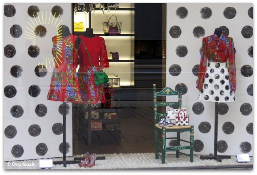 שמלות בחלון ראווה - וינה